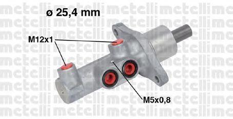 Главный тормозной цилиндр METELLI 05-0718