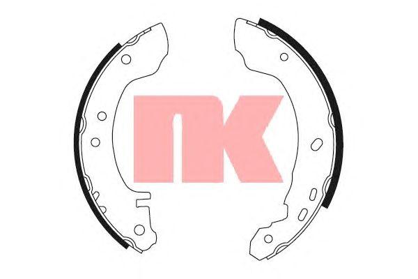Тормозные колодки NK 2722531