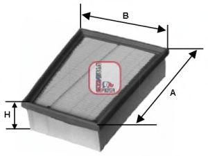 Воздушный фильтр SOFIMA S 3331 A