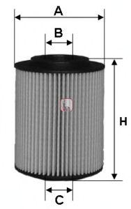 Масляный фильтр SOFIMA S 5050 PE