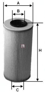 Масляный фильтр SOFIMA S 5583 PO