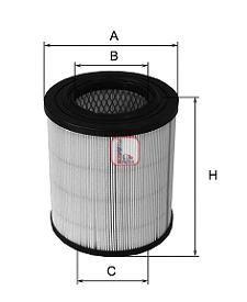 Воздушный фильтр SOFIMA S 7271 A