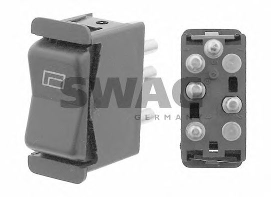 Кнопка стеклоподъемника SWAG 10 91 8309