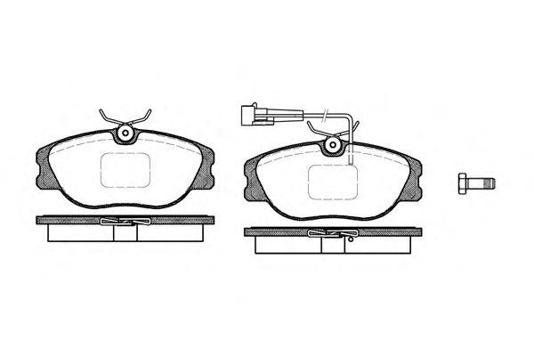 Тормозные колодки REMSA 0305.31