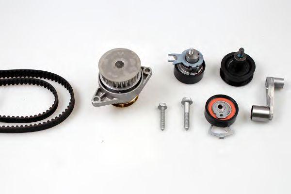 Помпа + комплект ГРМ HEPU PK05580