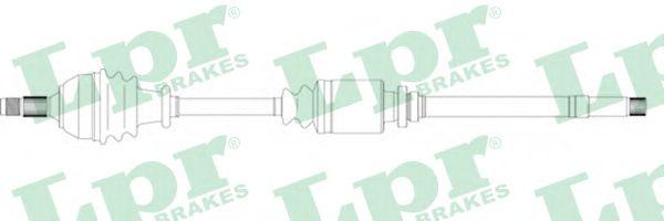 Приводной вал LPR DS16081