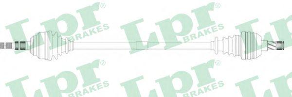 Приводной вал LPR DS37100