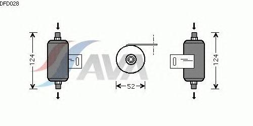 Осушитель кондиционера AVA QUALITY COOLING DFD028