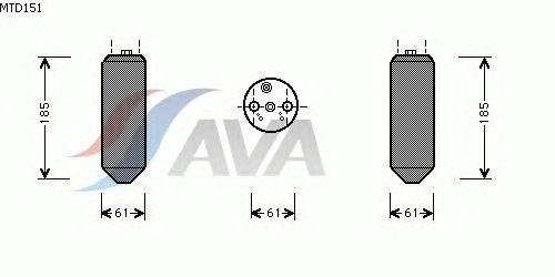 Осушитель кондиционера AVA QUALITY COOLING MTD151