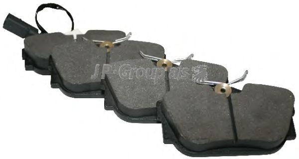 Тормозные колодки JP GROUP 1163706110