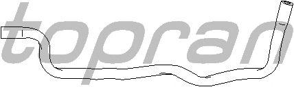 Шланг радиатора TOPRAN 111 985