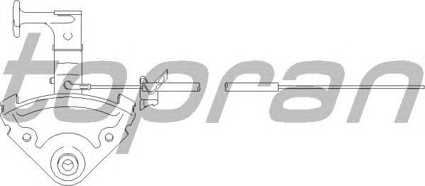 Трос замка капота TOPRAN 103 707