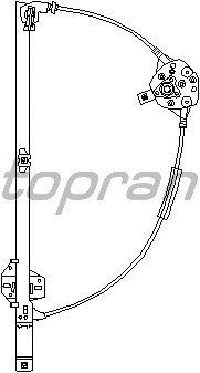 Стеклоподъемник TOPRAN 111 717