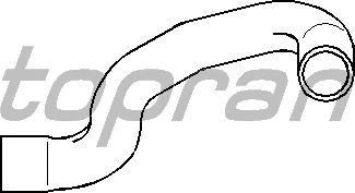 Шланг радиатора TOPRAN 500 447