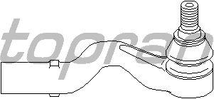 Наконечник рулевой тяги TOPRAN 400 652