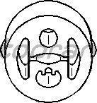 Кронштейн глушителя TOPRAN 400 232