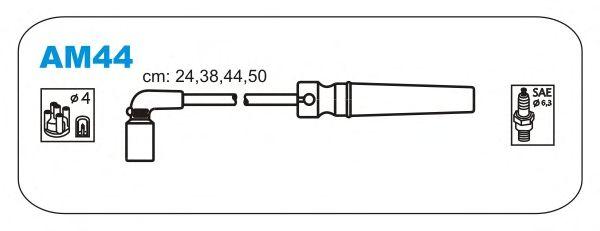 Комплект высоковольтных проводов JANMOR AM44
