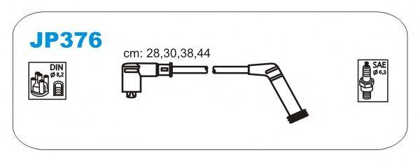 Комплект высоковольтных проводов JANMOR JP376