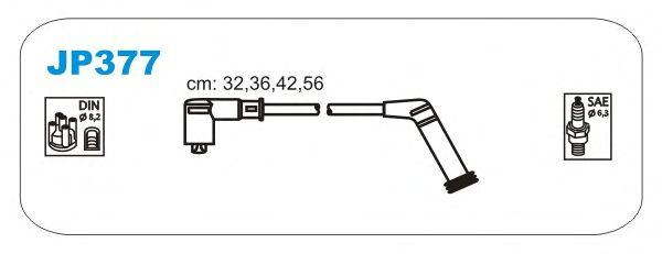 Комплект высоковольтных проводов JANMOR JP377