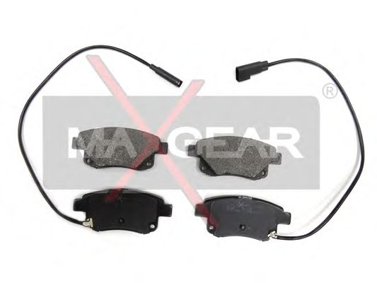 Тормозные колодки MAXGEAR 19-0520