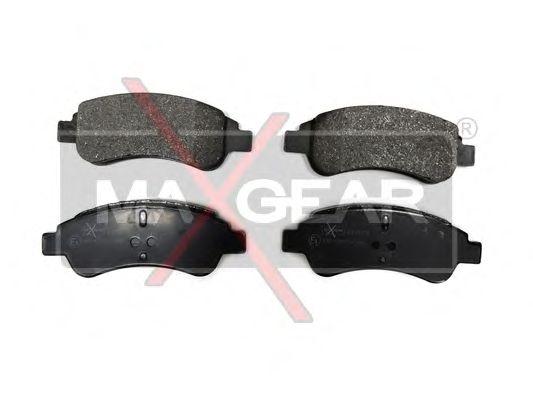 Тормозные колодки MAXGEAR 19-0574