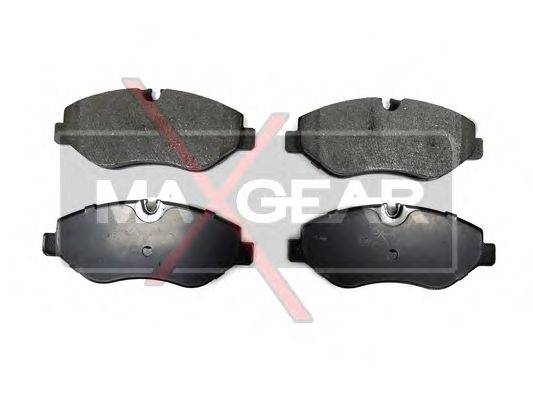 Тормозные колодки MAXGEAR 19-0666