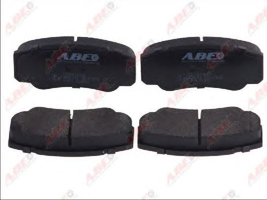 Тормозные колодки ABE C21051ABE