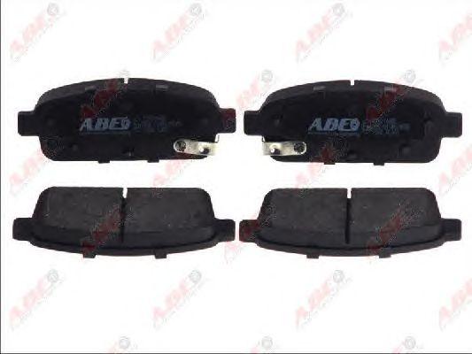 Тормозные колодки ABE C2X014ABE