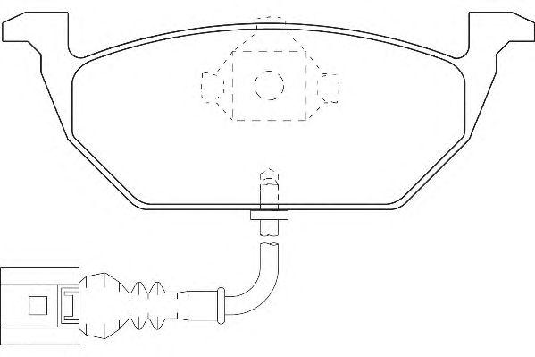 Тормозные колодки WAGNER WBP23130A