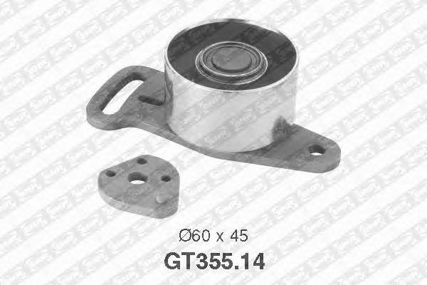 Натяжной ролик ремня ГРМ SNR GT355.14