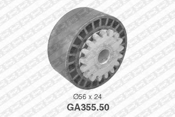 Натяжной ролик поликлинового ремня SNR GA355.50
