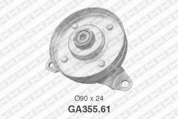 Натяжной ролик поликлинового ремня SNR GA355.61