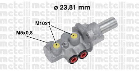 Главный тормозной цилиндр METELLI 05-0683
