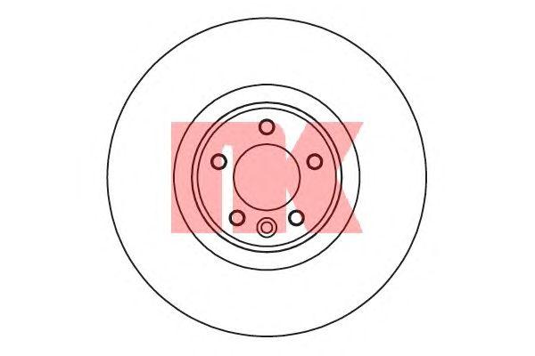 Тормозной диск NK 204042