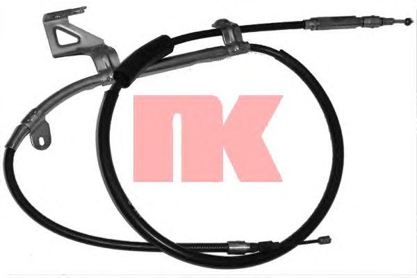 Трос ручника NK 904789