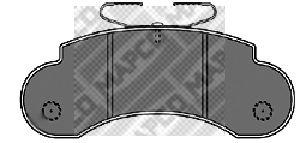 Тормозные колодки MAPCO 6379