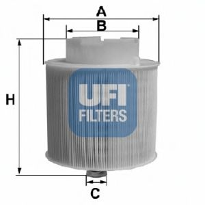 Воздушный фильтр UFI 27.598.00
