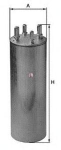 Топливный фильтр SOFIMA S 1849 B