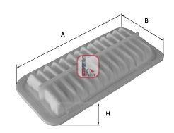 Воздушный фильтр SOFIMA S 3385 A