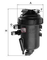 Топливный фильтр SOFIMA S 5148 GC