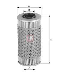 Топливный фильтр SOFIMA S 0491 N