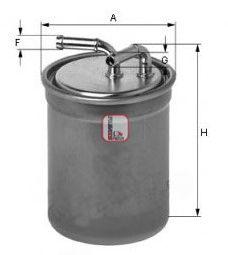 Топливный фильтр SOFIMA S 4016 NR