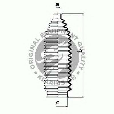 Комплект пыльников рулевой рейки QH International QG1351