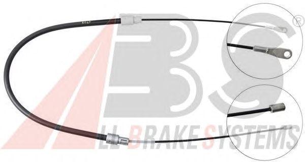 Трос ручника A.B.S. K14657