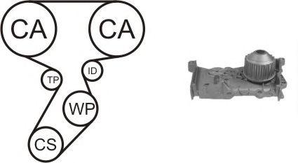 Помпа + комплект ГРМ AIRTEX WPK-164102