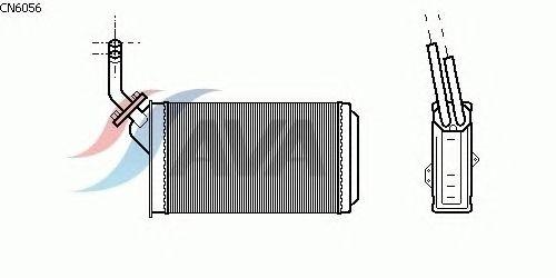 Радиатор отопителя AVA QUALITY COOLING CN6056
