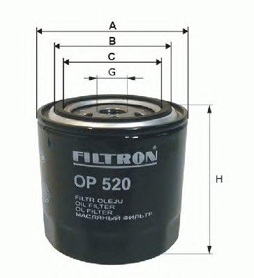 Масляный фильтр FILTRON OP638