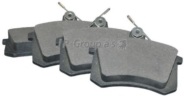 Тормозные колодки JP GROUP 1163705810