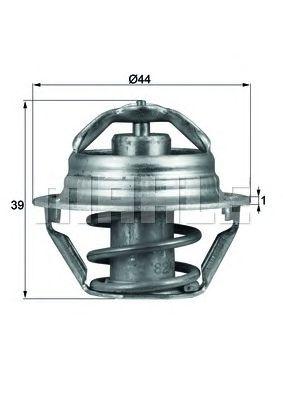 Термостат MAHLE ORIGINAL TX 90 87D