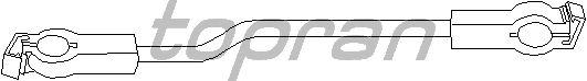 Шток вилки переключения передач TOPRAN 102 643
